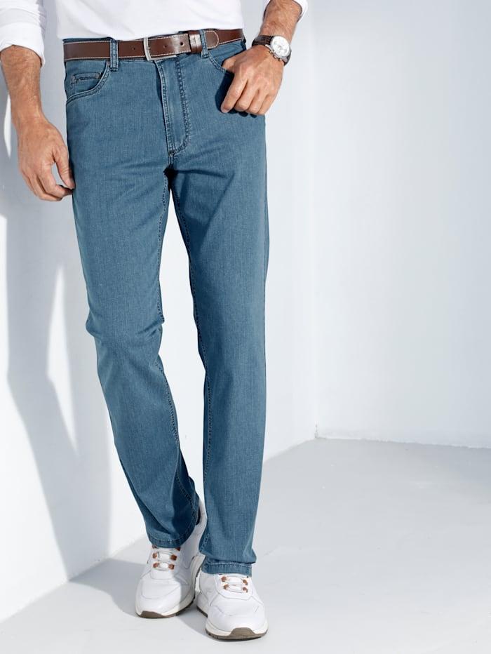 Jeans met lycra-technologie