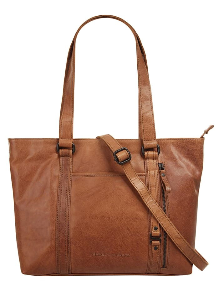 Spikes & Sparrow Shopper, cognac