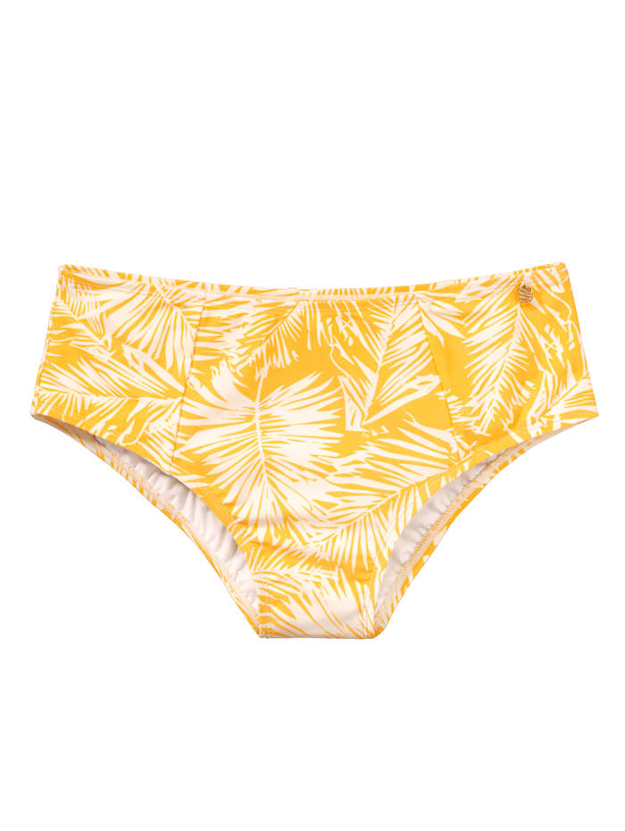 BEACHLIFE Bikini-Hose, Gelb