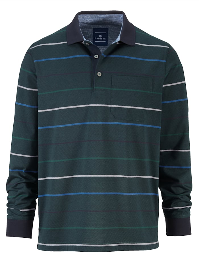 Poloshirt in bügelfreier Qualität