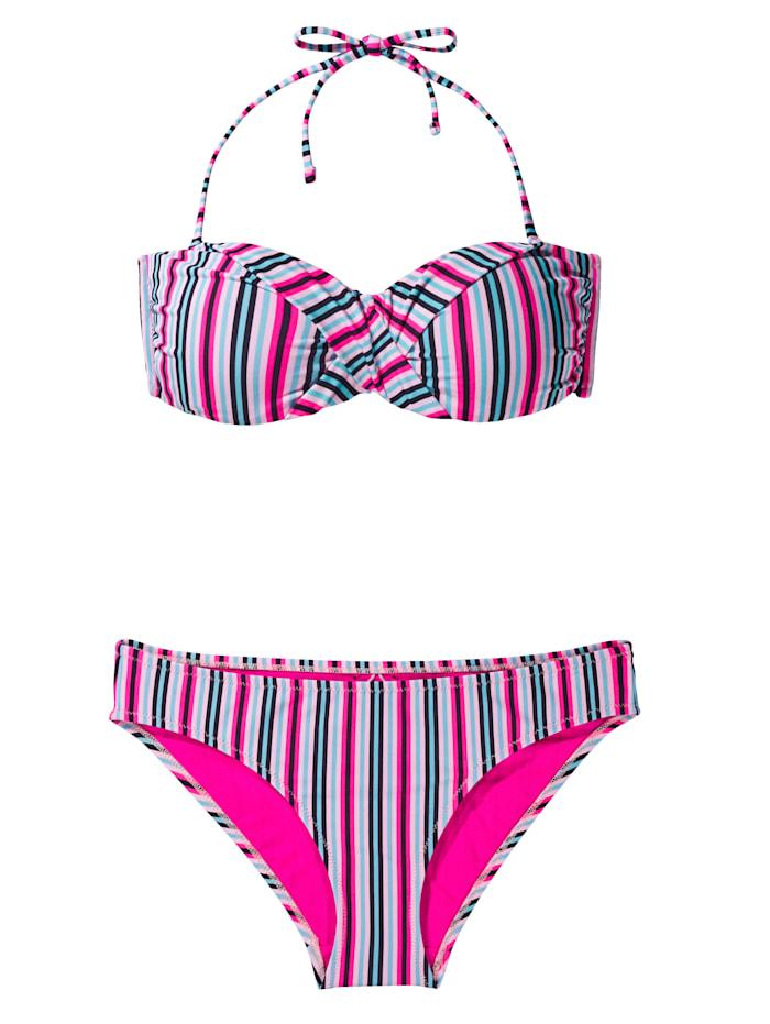 CHIEMSEE Bandeau-Bikini, Multicolor