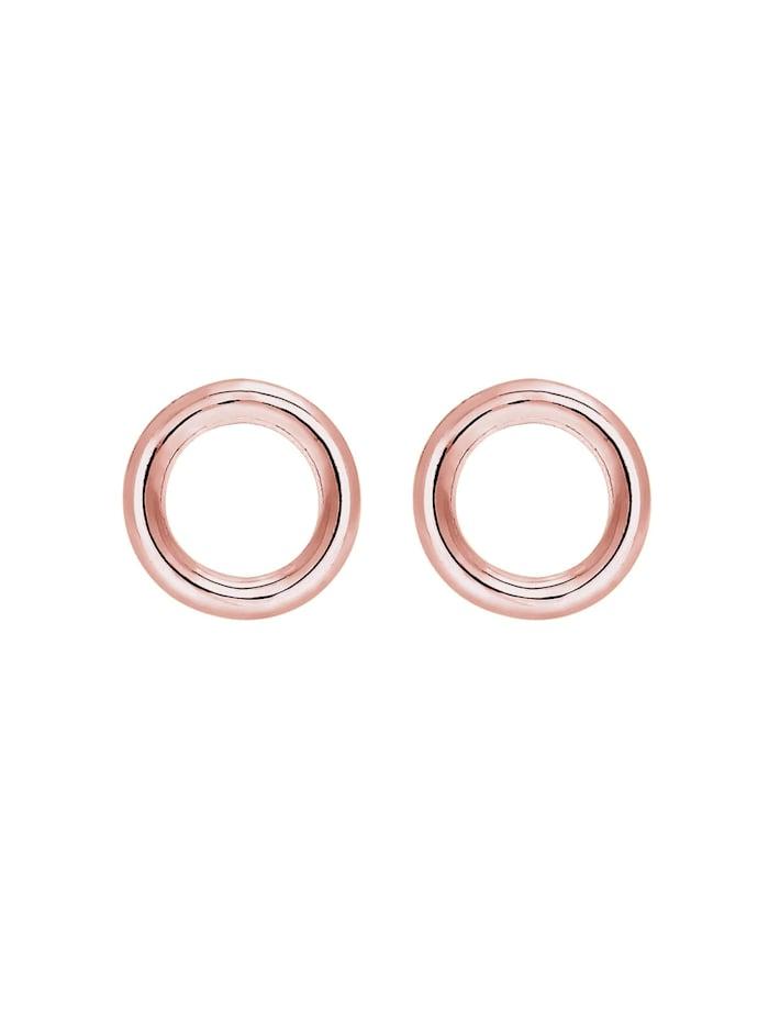 Ohrringe Basic Kreis Rund Geo Minimal 925 Sterling Silber