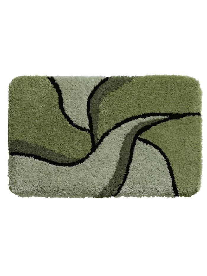 Webschatz Bademattenserie'Aberdeen', grün