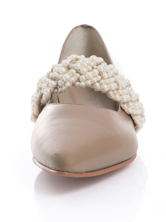 Ballerina aus hochwertigem Leder