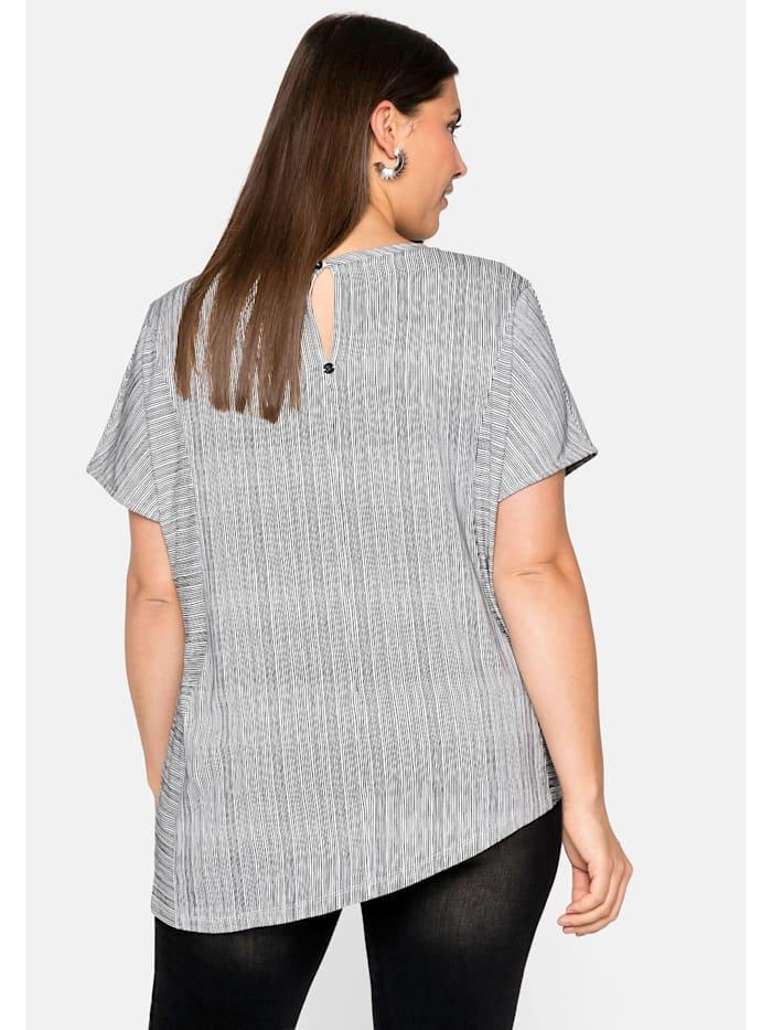 Sheego Shirt asymmetrisch