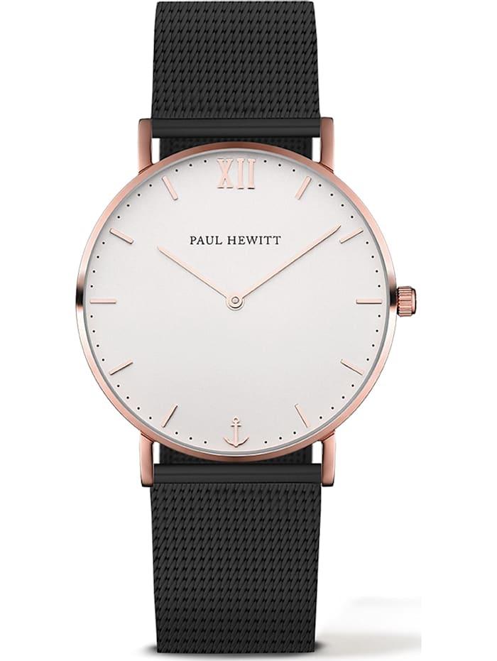 Paul Hewitt Paul Hewitt Unisex-Uhren Analog Quarz, schwarz