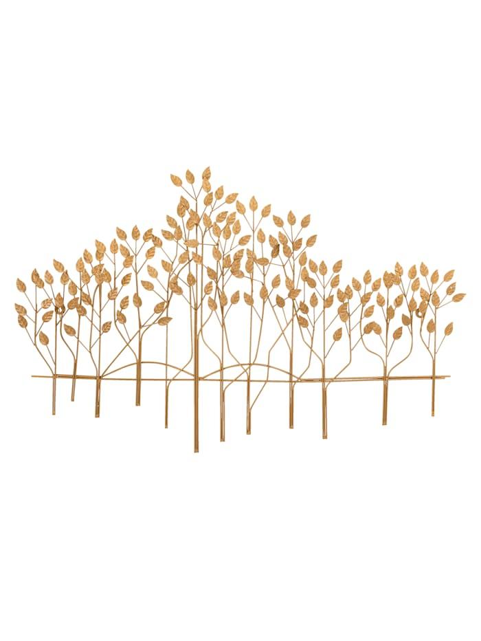 IMPRESSIONEN living Wand-Deko, Bäume, antik-goldfarben