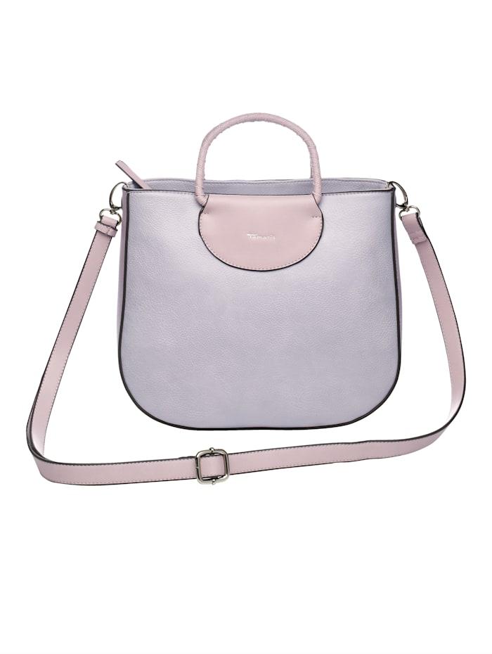 Handtasche 2-tlg. aus hochwertigem Softmaterial 2-teilig