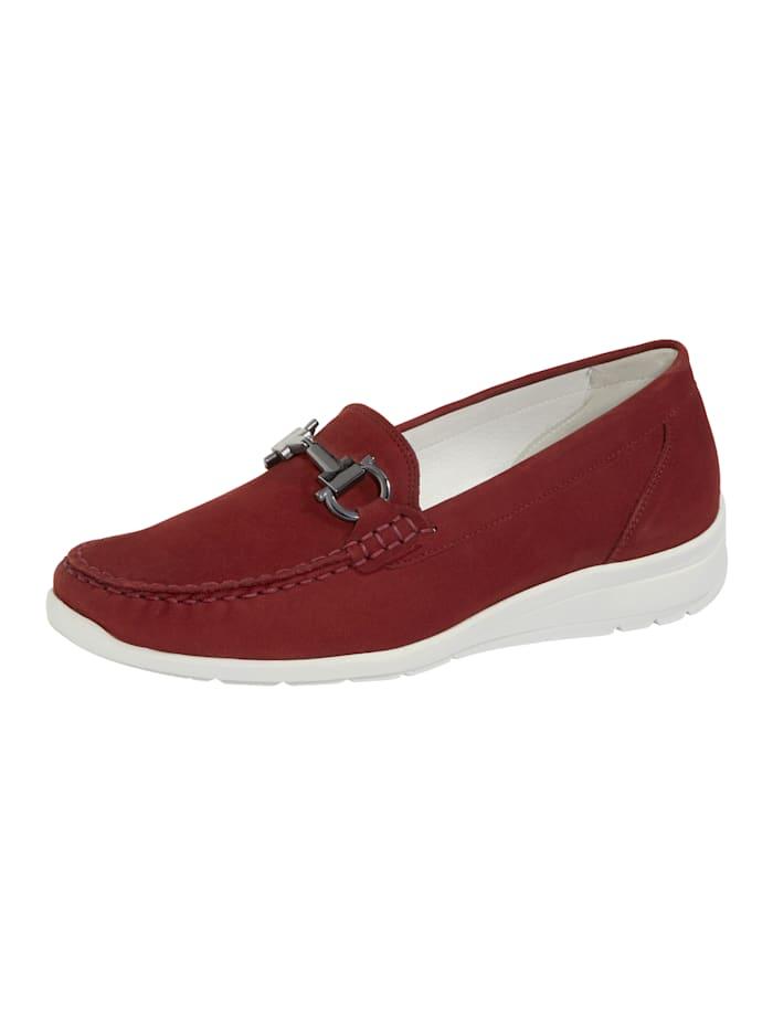 Waldläufer Loafers, Red