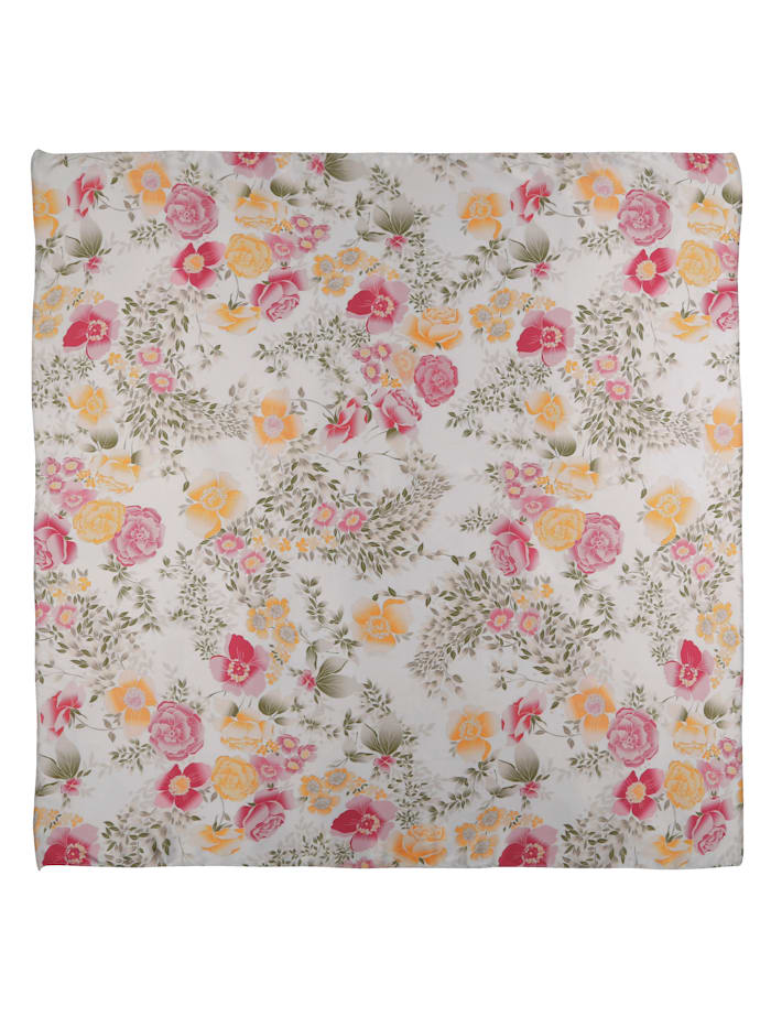 Foulard à motif floral