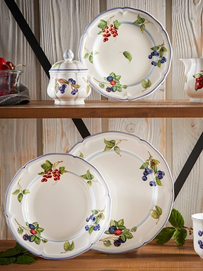 """Villeroy & Boch Assiette creuse """"Cottage"""", Multicolore"""