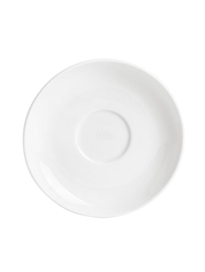 Kahla Untertasse Diner, Weiß