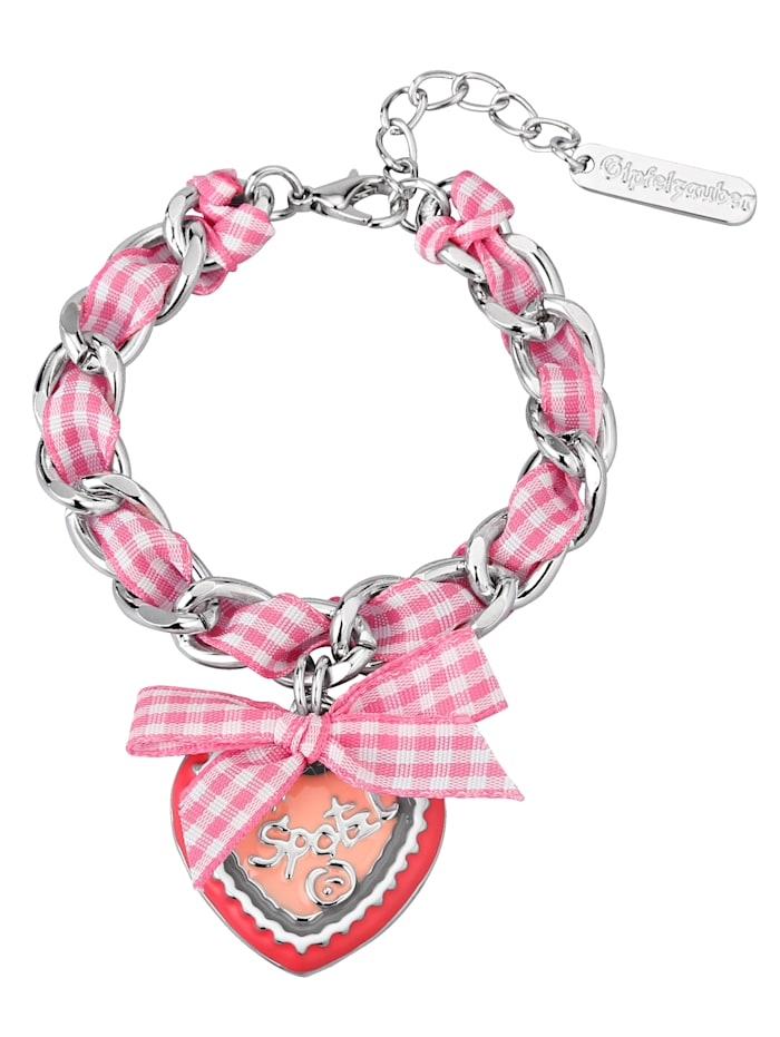 Gipfelzauber Armband mit Band 889013612220, Rosé