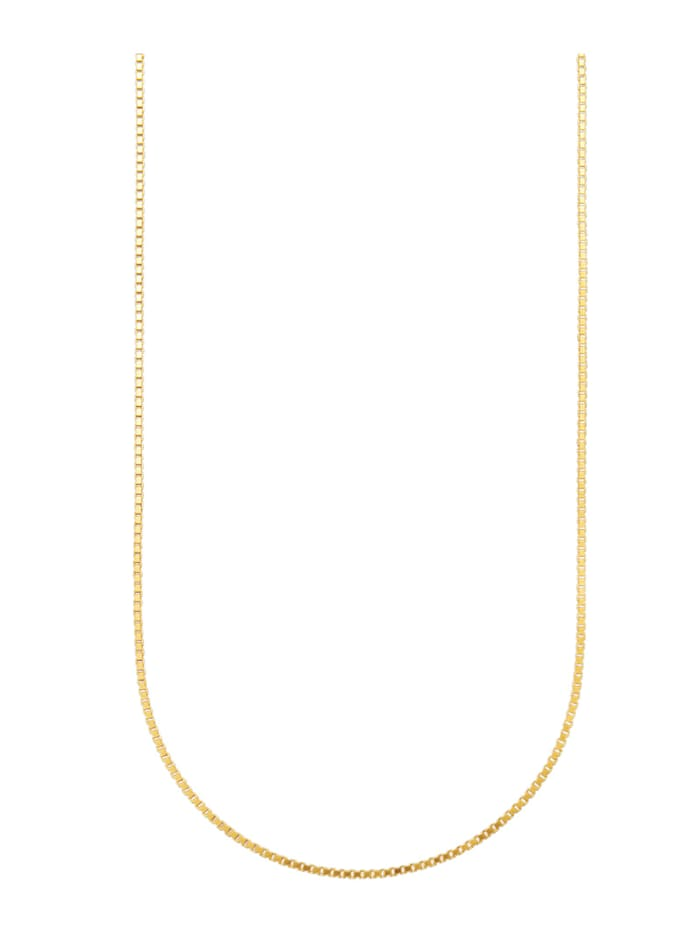 Amara Or Chaîne maille vénitienne en or jaune 585, Coloris or jaune