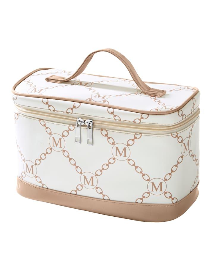 Cosmetic bag, White/Grey