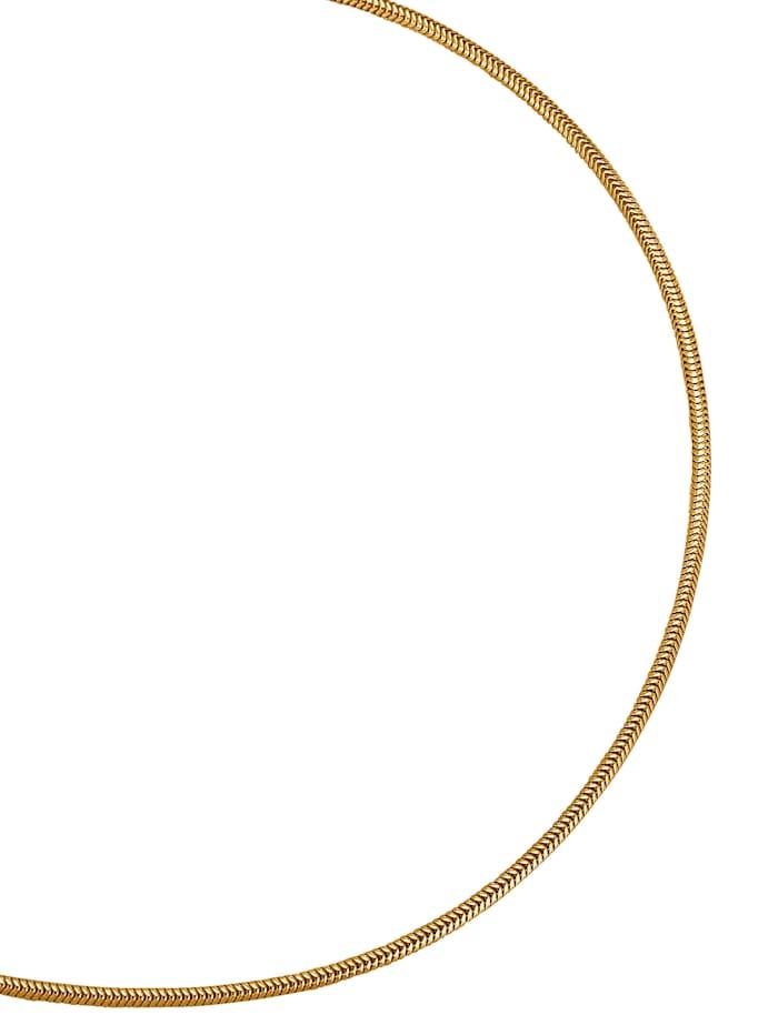 Diemer Gold Schlangenkette in Gelbgold, Gelbgoldfarben