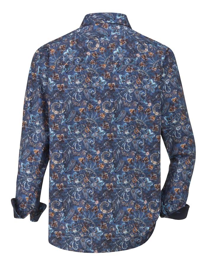Hemd mit modischem Druckmuster