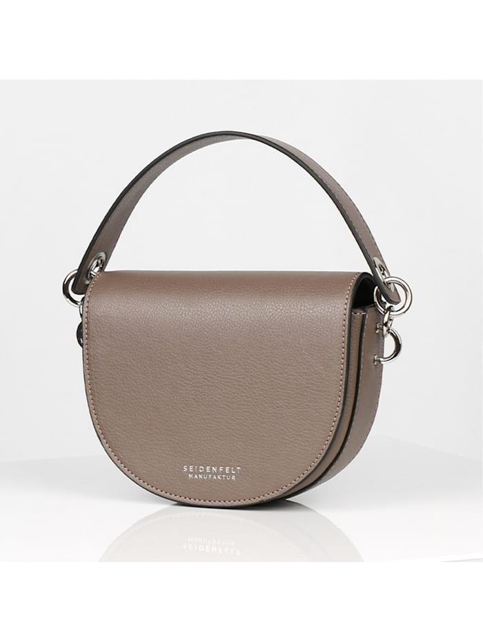 Seidenfelt Salo Mini Bag Umhängetasche 17 cm, taupe