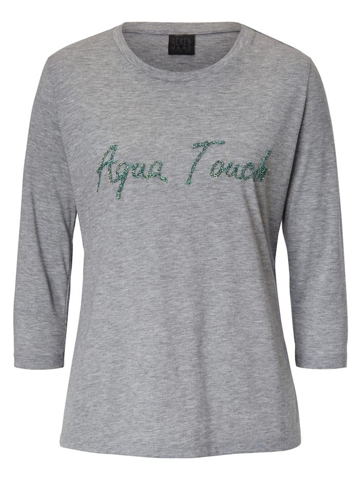 REKEN MAAR T-Shirt, Hellgrau