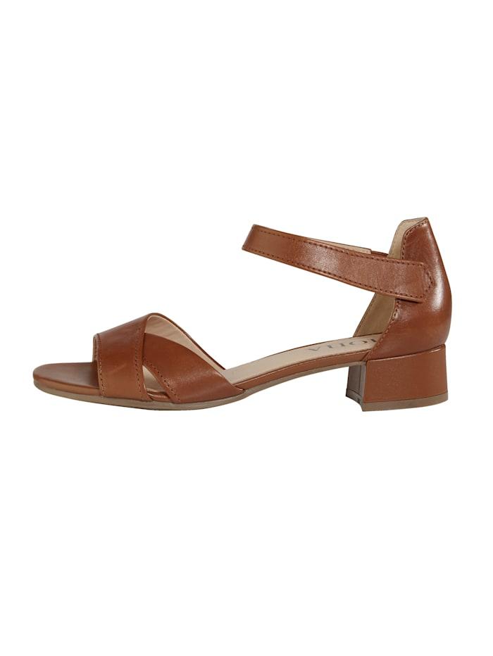 Sandaaltje met klittenbandsluiting