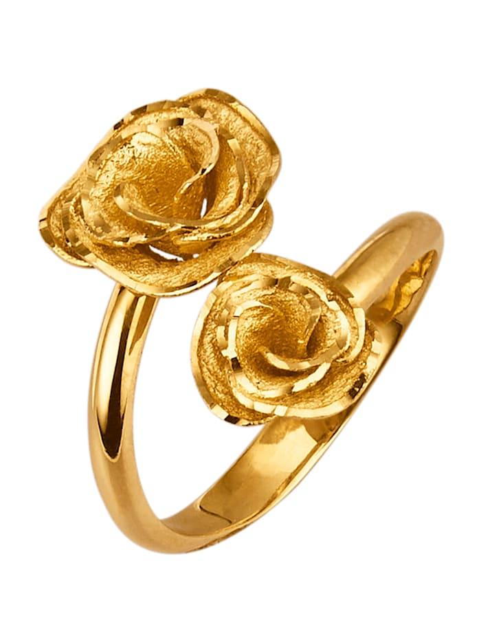 Rosen-Ring, Gelbgoldfarben