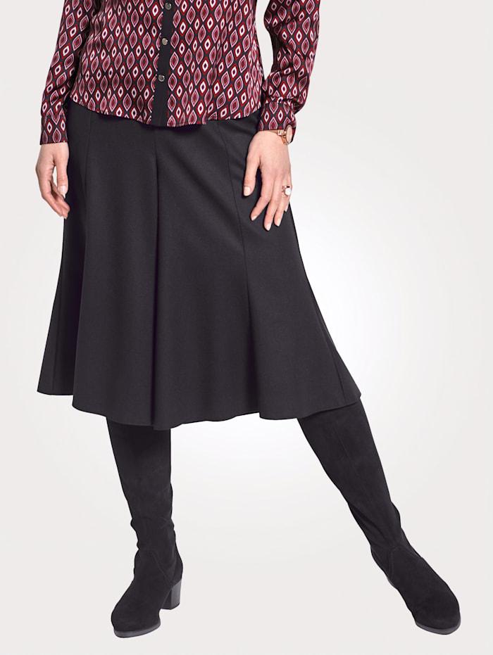 Hosenrock mit Schurwolle