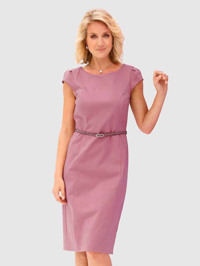 Kleid mit abnehmbarem Gürtel
