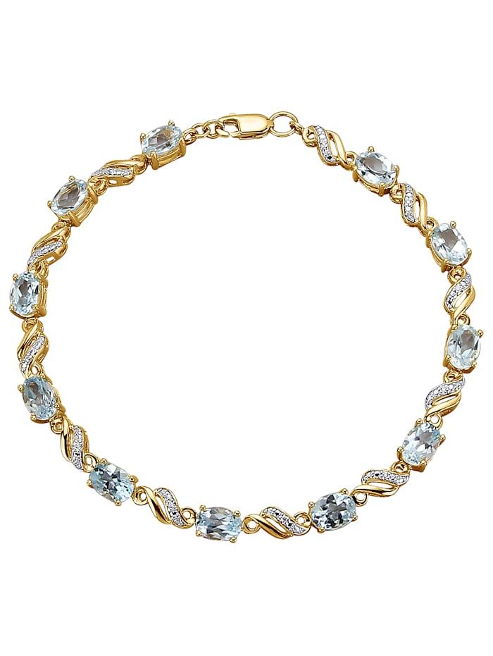 Armband, Blauw