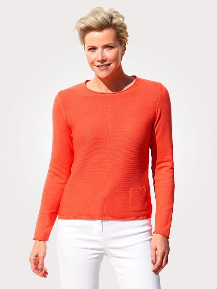 Rabe Pullover, Orange