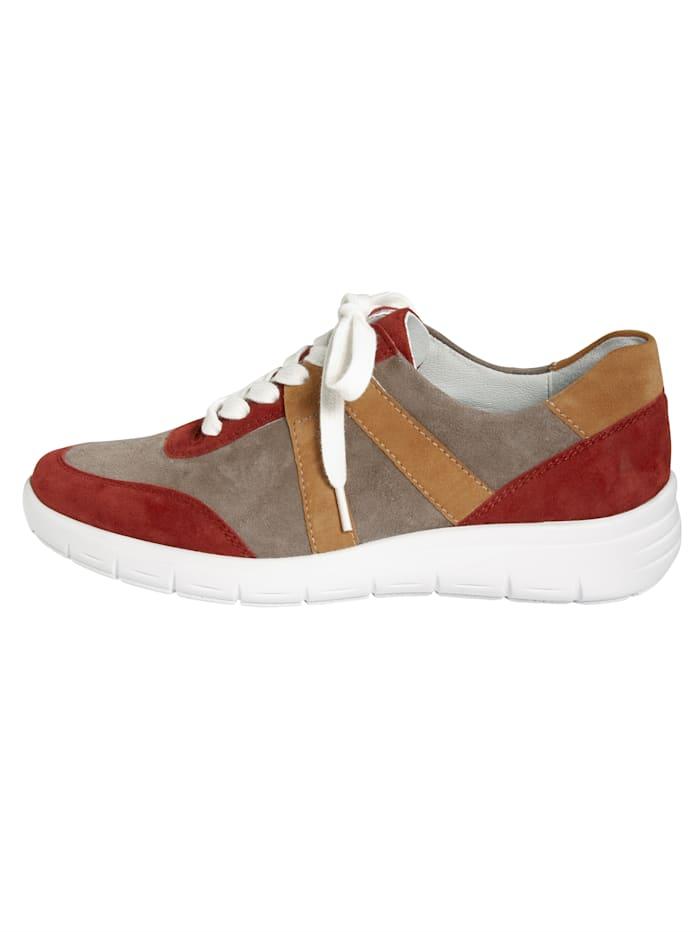Sneakers à talon amortisseur