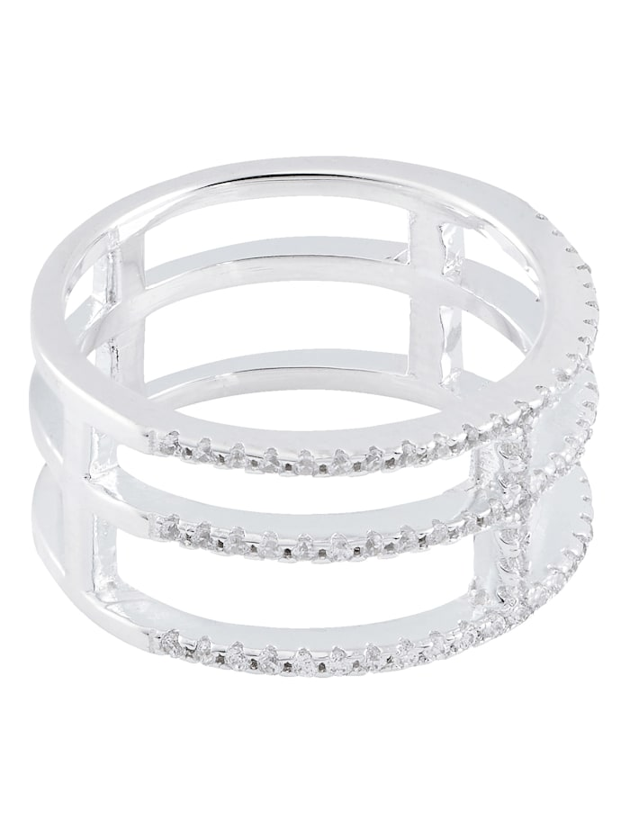 Possum Ring, Silberfarben