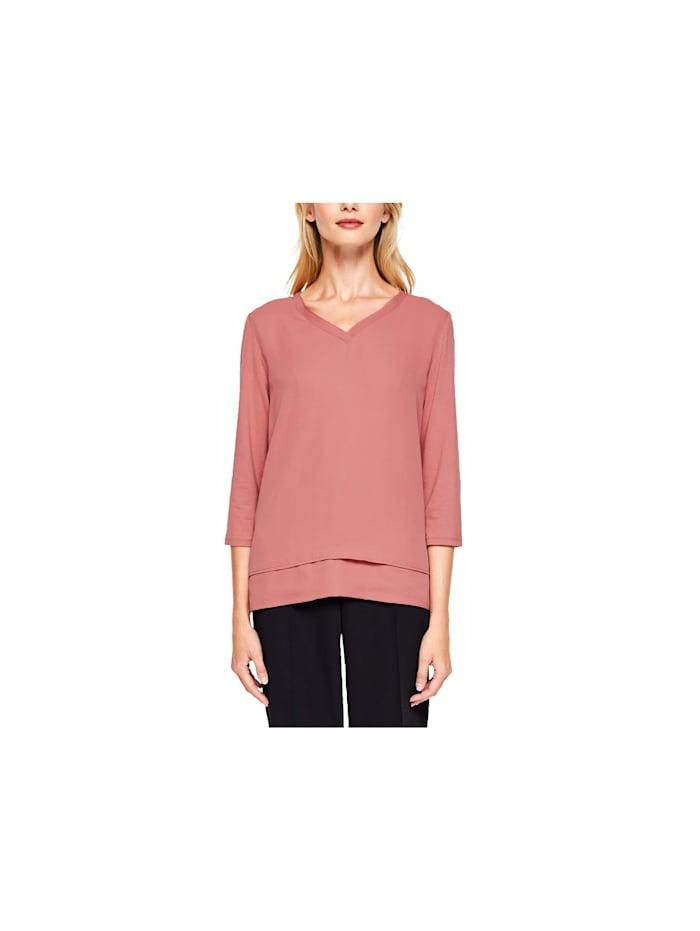 s.Oliver 3/4 Shirts, pink