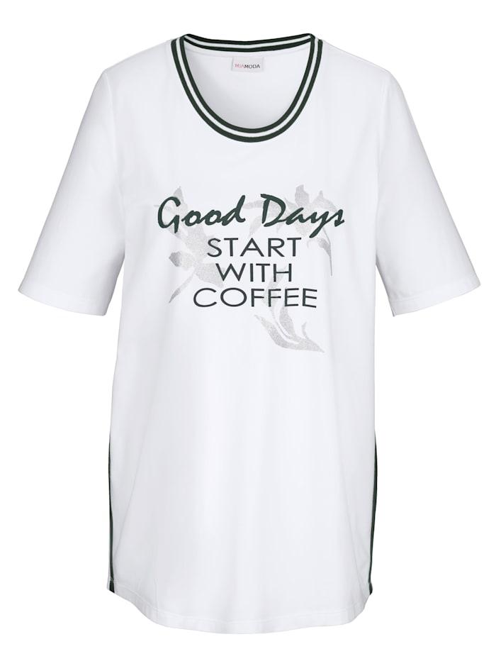 Shirt mit sportivem Streifen
