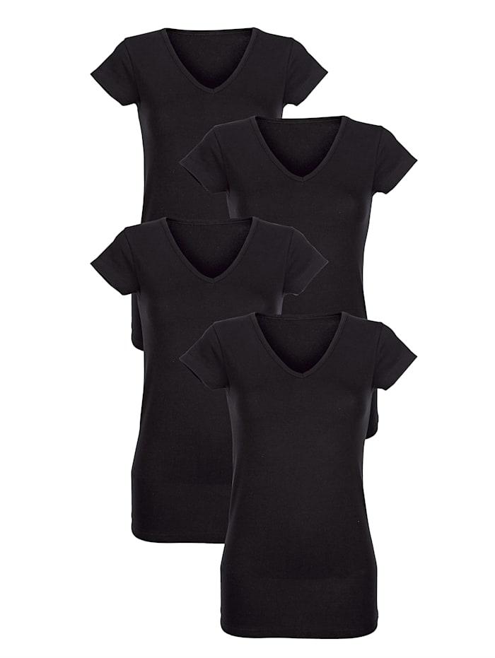 Hemdchen in perfekter Passform 4er Pack