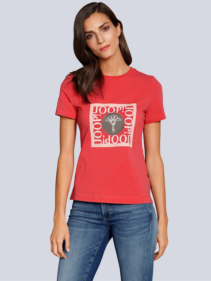 T-Shirt mit Druck auf dem Vorderteil