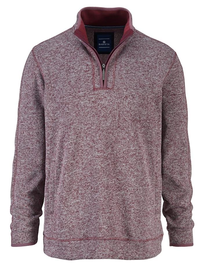 BABISTA Sweatshirt met warme, zachte binnenkant, Berry