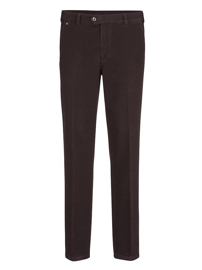 BABISTA Pantalon en matière finement structurée, Aubergine