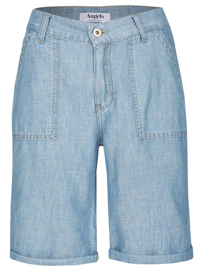 Angels Kurze Jeans 'Gianna Worker', blau