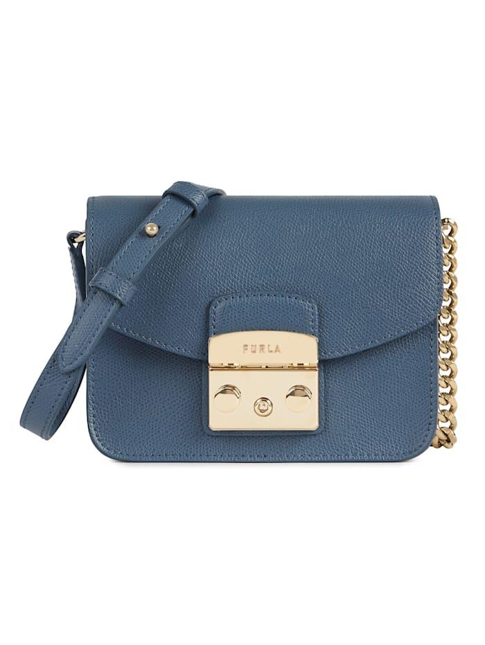 Furla Mini Crossbody-Bag, Jeansblau