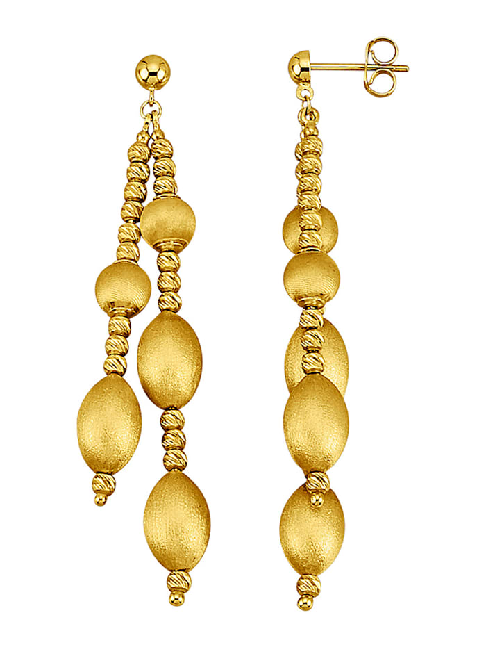 Ohrringe in Gelbgold 375, Gelb