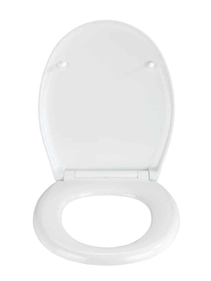 Premium WC-Sitz Concrete, aus antibakteriellem Duroplast, mit Absenkautomatik