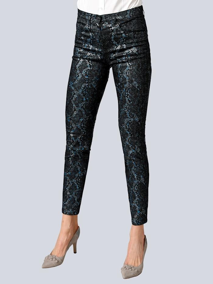 Raphaela by BRAX Jeans 'Lea N' im modischen Print, Dark blue