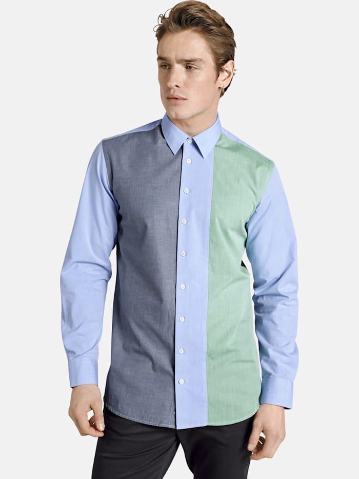 Shirtmaster Shirtmaster Chambrayhemd frombluetogreen, blau