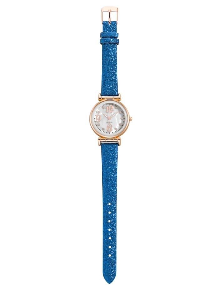 Laura Kent Armbanduhr, Blau