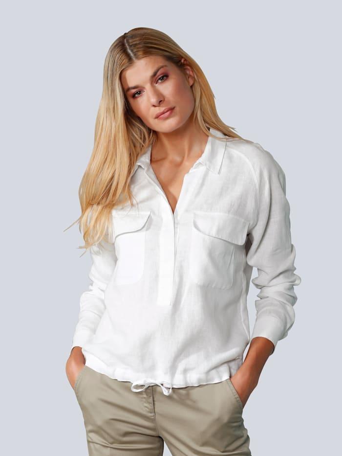 BRAX Bluse aus Leinen, Weiß