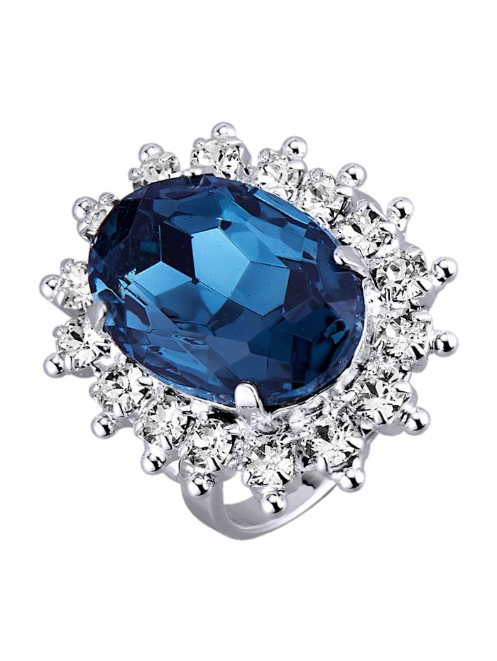 Damenring mit Kristallen