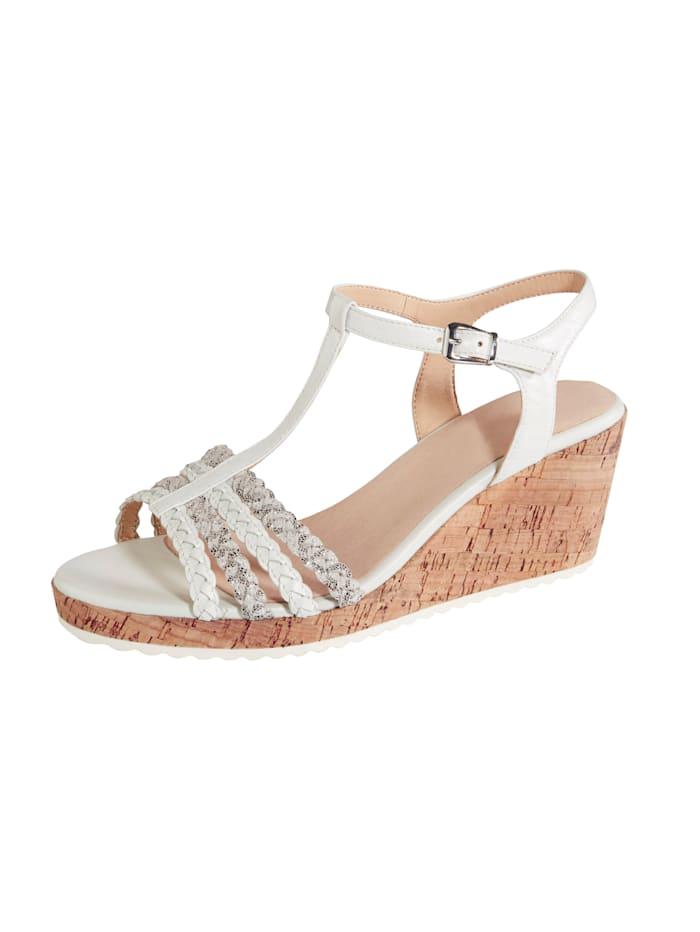 MONA Wedge sandals, White