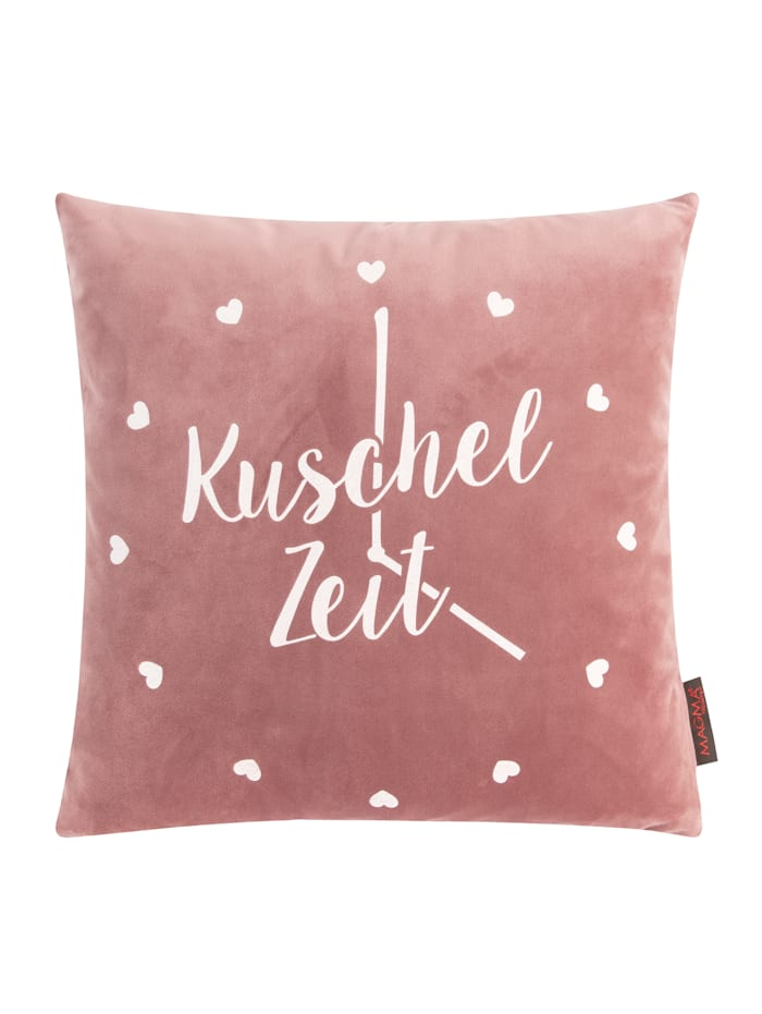 Kinzler Kissenhülle 'Kuschelzeit', altrose