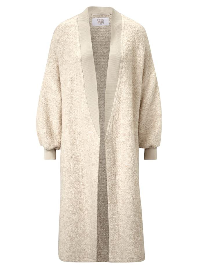 RIANI Mantel mit Effektgarn, Creme-Weiß