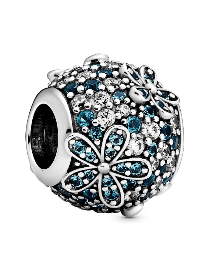 Pandora Charm-Pavé mit Gänseblümchen- 798797C01, Silberfarben